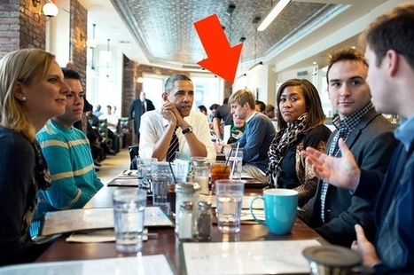 What Happens When the President Sits Down Next to You at a Cafe   BeBetter   Scoop.it