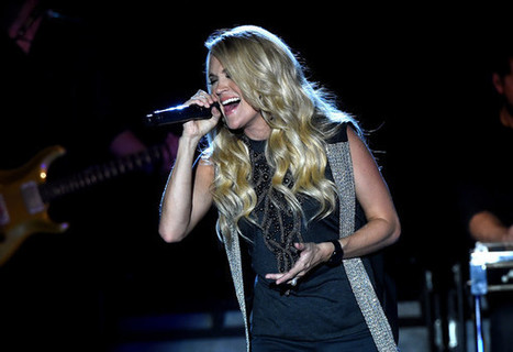 Carrie Underwood 'Happier' After Becoming a Mom | Country Music Today | Scoop.it