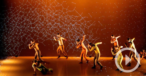Pixel: A Mesmerizing Dance Performance Incorporating Interactive Digital Projection | The Art of Dance | Scoop.it