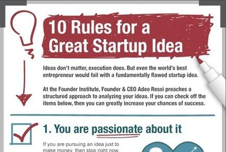 10 Regeln für ein großartiges #Start-up   Lets talk sales!   Scoop.it