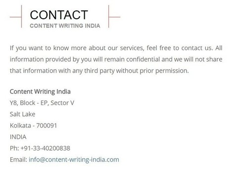 Hiring Content Writing Services – Essential Points To Consider | Relevant Search Engine Optimization Tips | Scoop.it