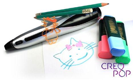 3D sketching with new cold ink pen CreoPop - The Rakyat Post | 3D printing | Scoop.it