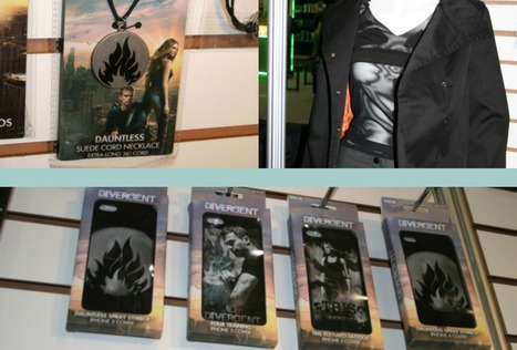 FIRST LOOK: NECA to unveil a whole line of official 'Divergent' merchandise | All things YA - Books, Publishing, Writing, Blogging, Reviews | Scoop.it