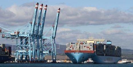 Atraca en Algeciras el barco de transporte de contenedores más grande del mundo   Transporte marítimo.   Scoop.it