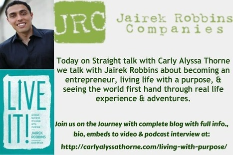 Living with Purpose | Carly Alyssa Thorne, Carly A Thorne, Conscious Business | Education | Scoop.it