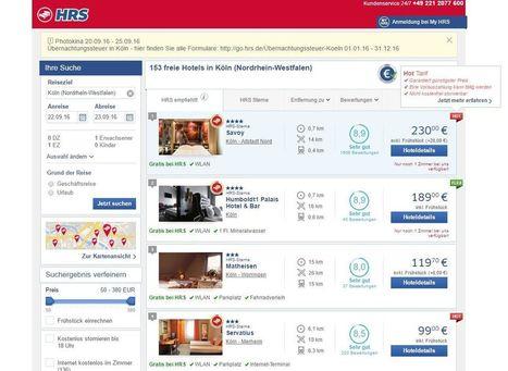 HRS lenkt ein: Hotels, die den Ranking Booster nutzen, werden gekennzeichnet   eTourism Trends and News   Scoop.it