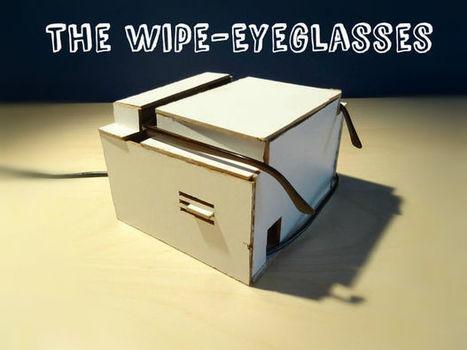 Arduino Powered Eyeglasses Wiper | Internet of Things, Wearable, Sensor and Data Technologies | Raspberry Pi | Scoop.it