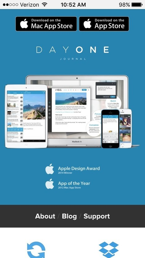 7 Winning Web Designs for Mobile Apps | Website Pages Advice | Scoop.it