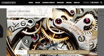 Christie's invests in digital innovation to reach a global audience | Luruxy | Scoop.it