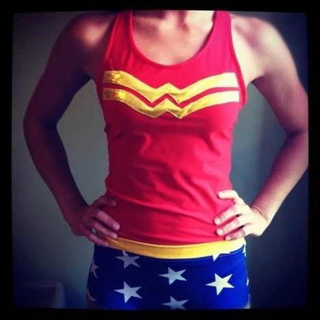 Race Like An Amazon With This Wonder Woman Running Attire | Spread the Nerd! | Scoop.it