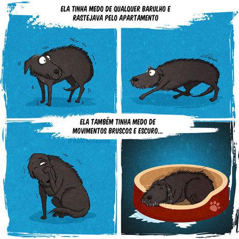 Quadrinho ilustra a adoção de um cão abandonado | BOCA NO TROMBONE! | Scoop.it