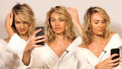 "Los ""ángeles"" de Victoria's Secret explican sus secretos para una selfie perfecta 