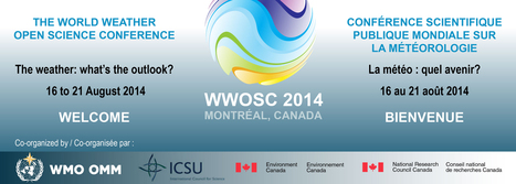 #eventi# WWOSC 2014 - The World Weather Open Science Conference / | hokusai | Scoop.it