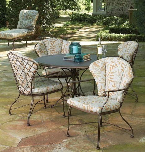 vintage wrought iron patio furniture - Floria Whitelaw's blog - Blogger   GARDEN ARBOUR   Scoop.it