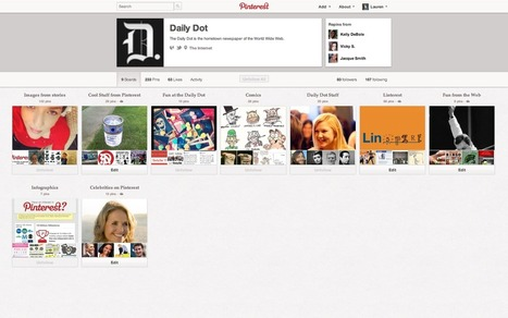 Pinterest changes its profiles | Everything Pinterest | Scoop.it