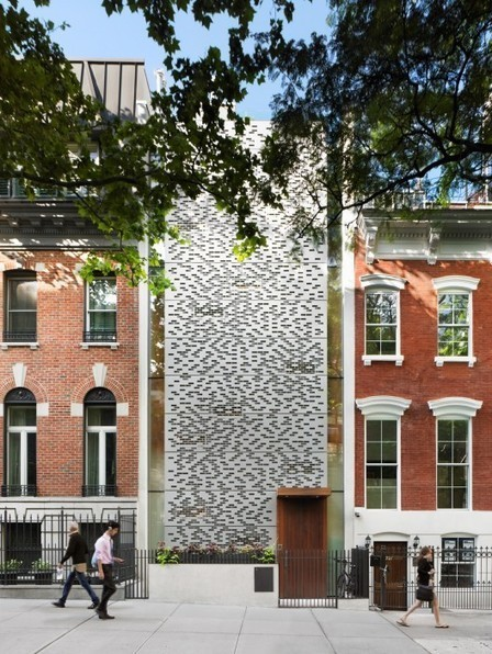 [New York, USA] Urban Townhouse / GLUCK+ | The Architecture of the City | Scoop.it