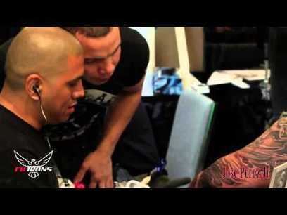 """Behind the Machine"" with Jose Perez Jr. at the AZ Hell City Tattoo Convention 