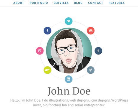 6 Themes Wordpress pour créer un CV créatif - Theme Wordpress | qareerup | Scoop.it