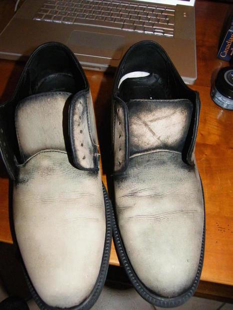 L'art de la patine des chaussures en cuir   Luxury   Scoop.it
