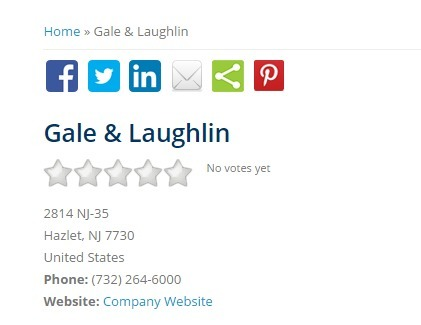 Gale & Laughlin | BiznessQuest.com | Gale & Laughlin NJ | Scoop.it