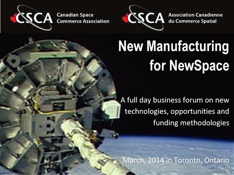 2014 CSCA National Conference: March 13th 2014 in Toronto, Ontario | More Space Conference News | Scoop.it