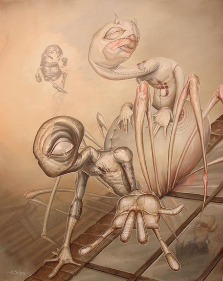 Surrealism and Visionary art: Greg Craola Simkins | my inspiration | Scoop.it