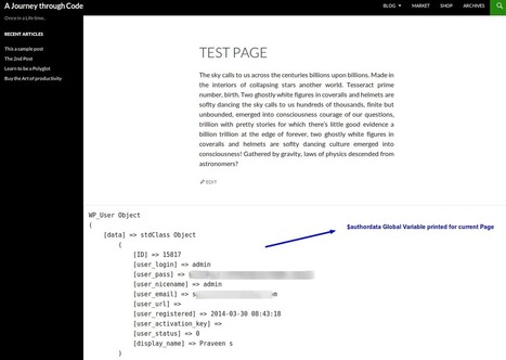 A Practical Use of WordPress Global Variables - Tuts+ Code Tutorial | bod-Wordpress | Scoop.it