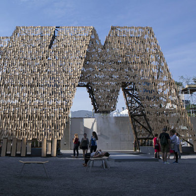 Party Wall by CODA opens at MoMA PS1 | asf - urban sustainability | Scoop.it