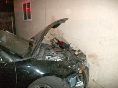 Lakeside Fire District: Vehicle Damages Structure on Los Coches ... | Coches | Scoop.it