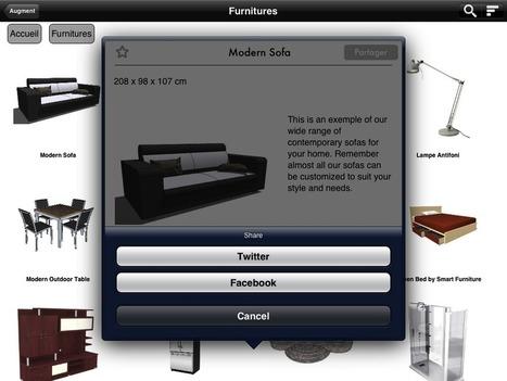 AUGMENT : utiliser la réalité augmentée sur un site ecommerce | Veille techno logiciels adobe | Scoop.it