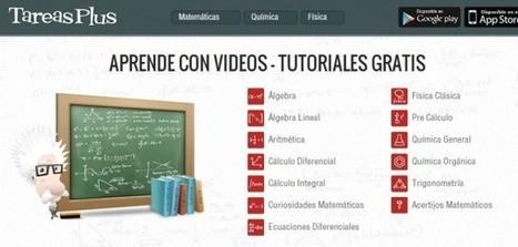 TareasPlus – tutoriales en vídeo, en español, de matemáticas, física y química | web 2.0 Lehen hezkuntza | Scoop.it