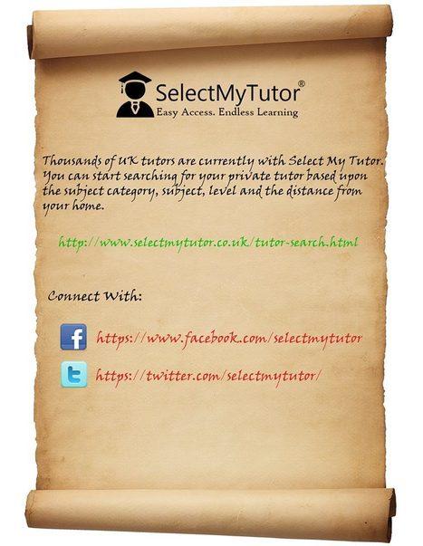 Find tutors at Select My Tutor | SelectMyTutor | Scoop.it