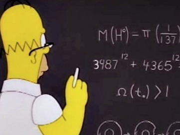 How the Simpsons Have Secretly Been Teaching You Math - Mother Jones | Science & Technology | Scoop.it