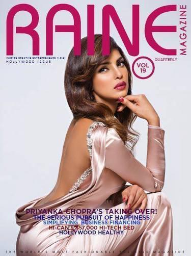 Priyanka Chopra Covers Raine Magazine - Magazines Cover Girl | Magazines Cover Girl | Scoop.it