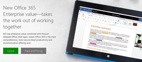 臉書成為微軟Office 365企業用戶   非營利組織資訊運用停聽看   Scoop.it