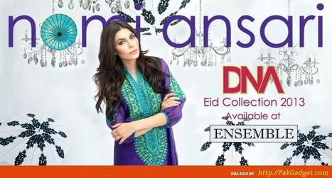 Ensemble Presents DNA by Nomi Ansari Dresses | P.R.O.J.E.C.T  F.A.S.H.I.O.N | Scoop.it