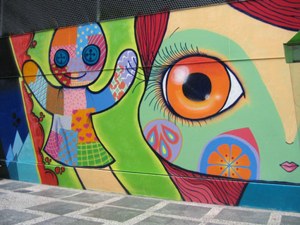 Tudo sobre Grafite: História, Desenhos, Gírias, Manifestação Artística | 2012 - 2013 | Desenho | Scoop.it