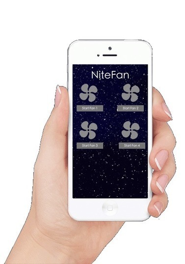 NiteFan – Fall asleep to the sound of a fan   Technology from hitechmom.com   Scoop.it