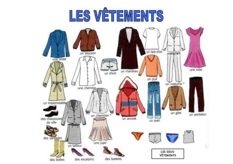 Lexique- Decrire une tenue et faire une appréci... | Frenchbook : PE-PO | Scoop.it