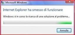Internet Explorer ha Smesso di Funzionare   Tecnologia Online   Scoop.it