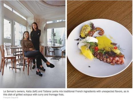 Pour le New York Times, il existe à Paris une – New Nouvelle Cuisine – dû à l'effet multiculturel de ses habitants | Food sucré, salé | Scoop.it