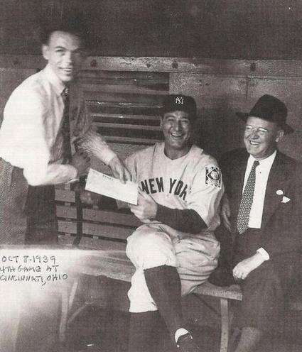 Twitter / History_Pics: Frank Sinatra asks Yankees ... | Film, Art, Design, Transmedia, Culture and Education | Scoop.it