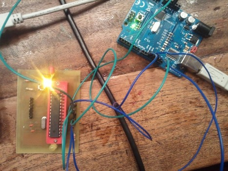 Bootloader on a ATMEGA328P | My two cents | Arduino | Scoop.it