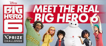 "XPRIZE RECRUITS REAL-LIFE ""BIG HERO 6"" 