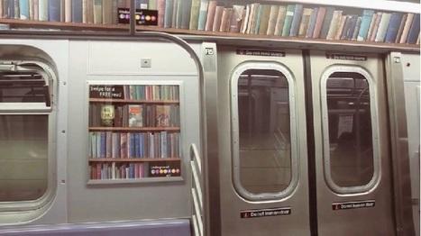 Une bibliothèque dans le métro | The Globe | Scoop.it
