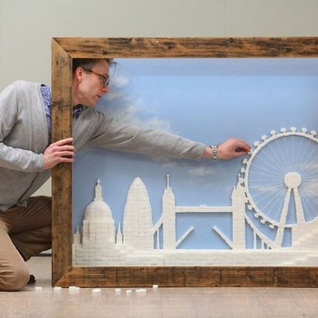 Thousands of sugar cubes make sweet London skyline (Wired UK) | Matmi Staff finds... | Scoop.it