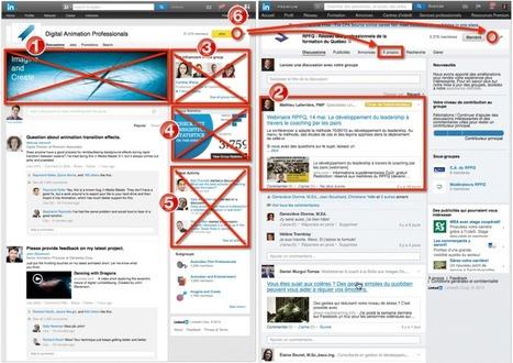 Modifications importantes au niveau des groupes Linkedin - Mathieu Laferrière | Marketing digital - campagnes digitales - réseaux sociaux | Scoop.it