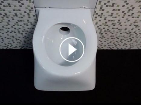 Lépine 2016 : SaniFree, les toilettes escamotables gain de place | Conseil construction de maison | Scoop.it