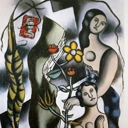 17 août 1955 décès de Fernand Leger | Racines de l'Art | Scoop.it