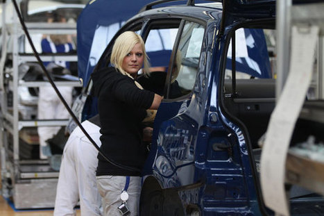 A Manufacturing Recovery, But Not for Women | U.S. Manufacturing | Scoop.it